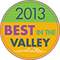 2013 Best in the Valley Winner