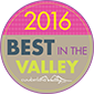 2016 Best in the Valley Winner